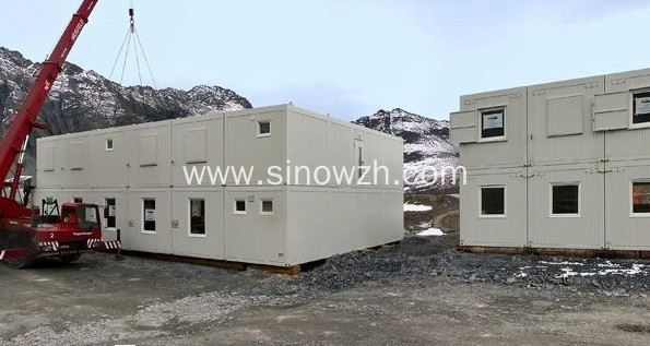 Container House with bedroom and bathroom