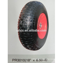 "pneumatic wheels 18""X6.50-8"
