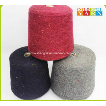 Unique Style Wool and Acrylic Blended Yarn for Knitting Scarf