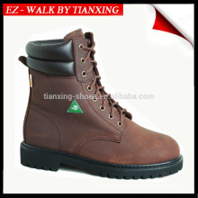 CSA approved SAFETY SHOE WITH STEEL TOE AND GENUINE LEATHER UPPER