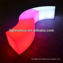 Gekrümmter LED-Stuhl