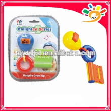 Newest Baby Enlighten Series Rattle Bell Toy,Cute Cartoon key Design Rattle Bell