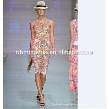 Neue Sommermode sexy Slim-Paket Hüfte Kleid Kleid