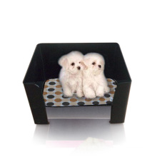 Black Acrylic Pet House, Lucite Pet House Holders