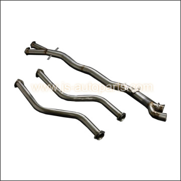 TITANIUM BMW E46 M3 DOWN PIPE AND CENTER PIPE