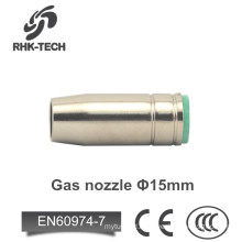 torch parts mb25 mig nozzle for co2 welding gun
