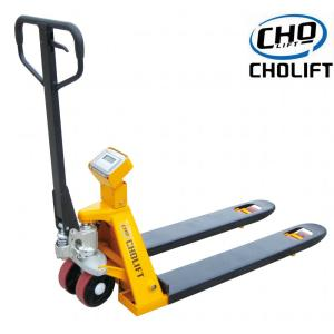 2T Manual Scale Pallet Truck Without printer