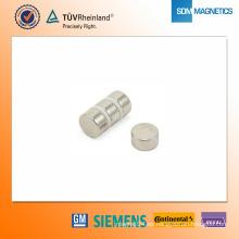 Imán de neodimio N42 D15 * 8 mm