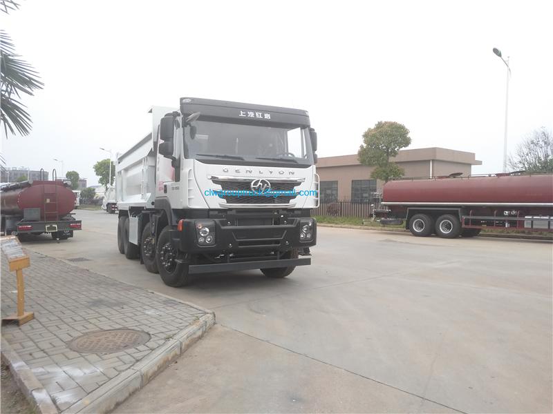 8x4 Dump Truck 1