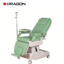 DW-HE004 Mobilier d'hôpital électrique dialyse chaise de traitement lit