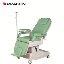 DW-HE004 Electric hospital furniture dialysis treatment chair bed