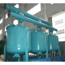Filtre de sable moyen peu profond efficace pour l'eau circulante industrielle