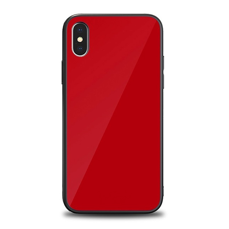 Iphone X Case Tempered Glass