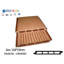 Panel de pared al aire libre de PE WPC / cubierta / revestimiento con SGS CE Fsc ISO Lhma084