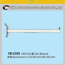 supermarket display brackets store display fixture for slatwall