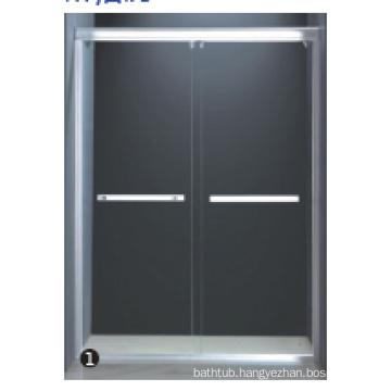Tempered glass shower glass door seals