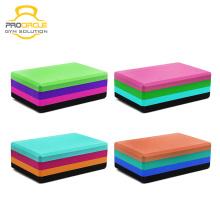 4 bloco de ioga colorido macio espuma de ioga eva tijolo