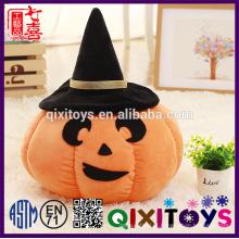 Personalidade halloween abóbora cerâmica brinquedo iluminado festival