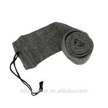 """Accessoires de pistolet de chasse Tourbon 54 """"Gun Sock pour fusil Shotgun Polyester traité avec Silicone Gun Case Sleeve Grey"""