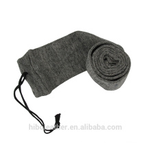 "Tourbon Hunting Gun Accessories 54"" Gun Sock for Rifle Shotgun Polyester treated with Silicone Gun Case Sleeve Grey"