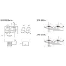 0.56inch 2 Digit 7 Segment Display (GNS-5622Ax-Bx)