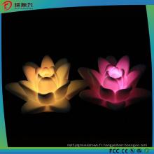 Lumière de bougie de la forme LED de beauté de Lotus pour la décoration de partie