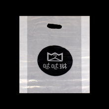 Plastic Shopping Die Cut Handle Packaging Bag