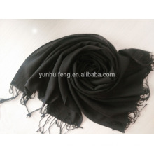 Mercerized Wool.pashmina Solid Color Scarf inner mongolia huhhot