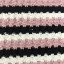 Polyester spandex waffle fabric