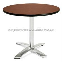 Mesa de café de acero inoxidable mesa XT6938