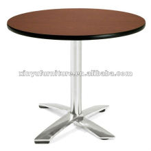 Mesa de café barata em aço inoxidável XT6938