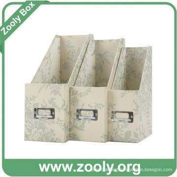Cardboard File Holder Magazine File Box Desktop File Holder