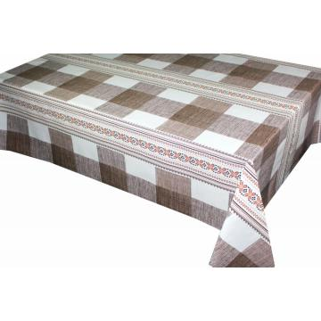 Check style Printed Tablecloth