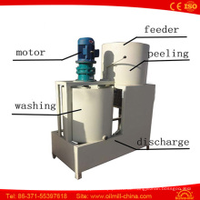 Top Qualität Sesamsamen waschen Peeler Hulling Schälmaschine