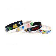 Cheap Custom Made Cool Popular Printable Silicone Wrist Band