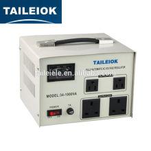Contrôle du servomoteur stabilisateur automatique à basse tension AC 220V 1000VA