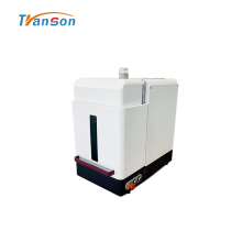 Enclosure 20W Fiber Laser Marker For Metal Plastic