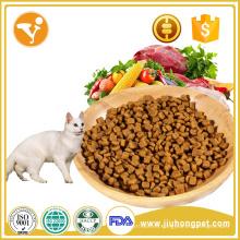 OEM delicioso halal alimentos para mascotas sabor de los pescados mayorista de alimentos para gatos