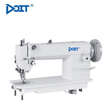 DT 0302 Dual Synchronous flatbed compound feed heavy duty lockstitch sewing machine with split needle bar