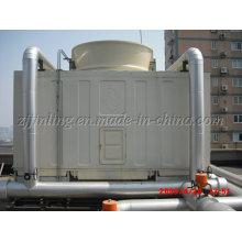 Енз-400UL/д поперечном обтекании квадратной водонапорная башня