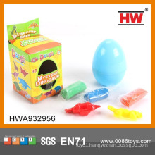 High Quality Dinosaur Egg Plasticine Modeling Clay Toy Set