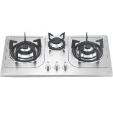 Três fogão do gás do queimador (SZ-LX-213)