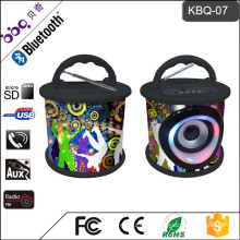 BBQ KBQ-07 5W 1200mAh Shenzhen Bluetooth 2.0 / 3.0 Center Channel Speaker for iPod