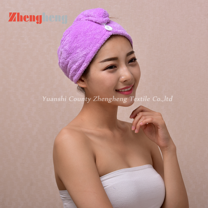Coral Fleece Hair Cap (5)
