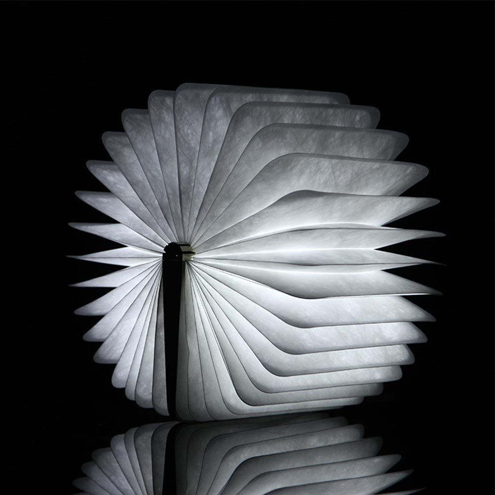 folding book light