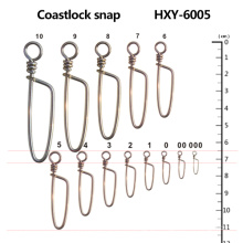 Atacado Pesca Swivel Coastlock Snap
