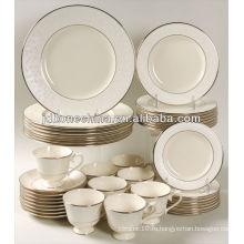 32pcs прочный экологически чистый костяной фарфор ужин набор saled в Alibaba