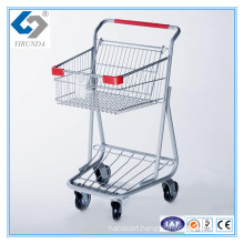 Hot Sale Single Basket Shopping Trolleys with Good Design