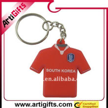 Silicone T-shirt key chain