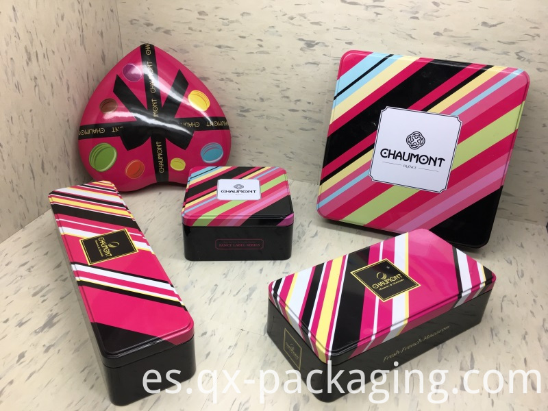 Custom tin packaging